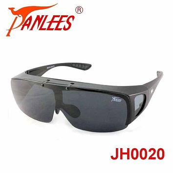 Hot cool design UV protective flip-up fit over glasses driving sunglasses out do goggle for hot sun reduce glare