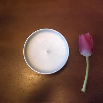 LIMITED EDITION Soy Aromatherapy Candle - Sweet Orange and Sage pure essential oil, handcrafted, all natural