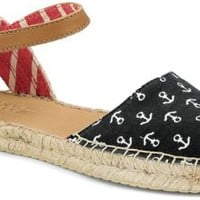 Sperry Top-Sider Hope Espadrille NavyAnchors, Size 12M  Women's Shoes