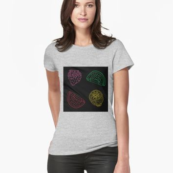 'Fruits salad' T-shirt by VibrantVibe