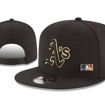 New Arrival New Era Black Cap MLB Baseball Fitted Hat-13