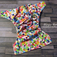 I Want Candy OS Pocket Cloth Diaper