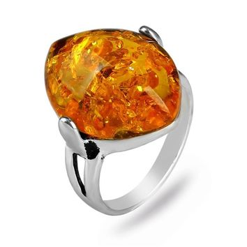 Natural Stone Rings for Women