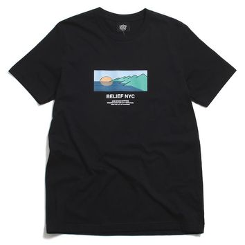 Horizon T-Shirt Black