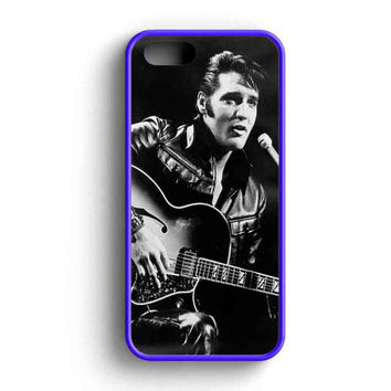 Elvis Presley Cool Face  iPhone 5 Case iPhone 5s Case iPhone 5c Case