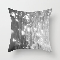 glitter on the water Throw Pillow by Halle Murdock | Society6