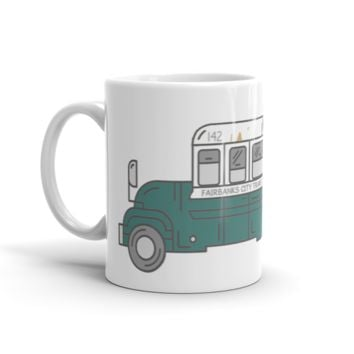 Into the Wild Inspired Bus Mug