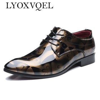 Men Dress Shoes / Luxury Leather Fashion Oxfords