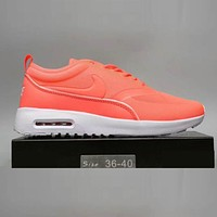 Nike Air Max Thea Ultra Popular Women Men Casual Sport Running Shoe Sneakers Orange I-A0-HXYDXPF