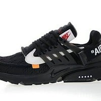 Off White x Nike Air Presto Black White AA3830-002 shoe