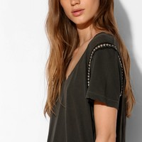 Pins And Needles Easy Rocker Tee - Urban Outfitters