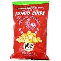 POP! Gourmet Foods Original Huy Fong Sriracha Potato Chips 8 oz. (227g)