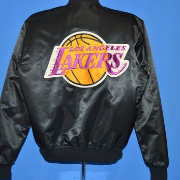 80s Los Angeles Lakers Snap Up Starter Jacket Large