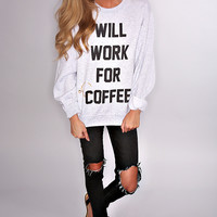 the laundry room: coffee bum 90s pullover
