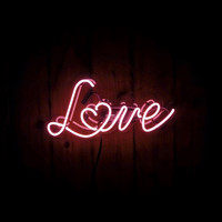 Love Neon Sign (with heart)