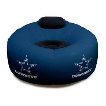 Dallas Cowboys NFL Large Inflatable Air CHAIR w/ Pump