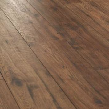 Home Decorators Collection, Distressed Brown Hickory 12 mm x 6.25 in. x 50.75 in. Laminate Flooring (15.45 sq. ft. /case), 34074SQ at The Home Depot - Mobile