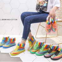 Transparent Rain boots waterproof non-slip shoes rubber shoes