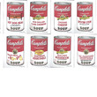 Andy WARHOL complete set Campbell's Soup authenticated portfolio II 944/2400