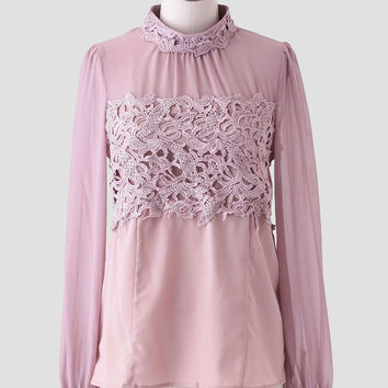 In Prague Lace Blouse