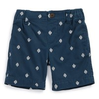 Boy's Tea Collection 'Diwali' Embroidered Cotton Shorts