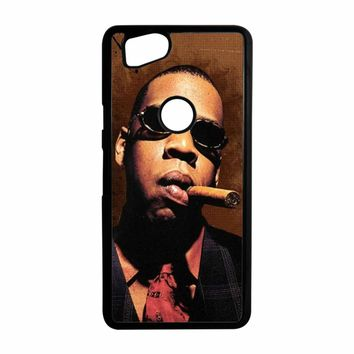 Jay-Z Cigar Glasses Tie Vest 01  Google Pixel 2 Case