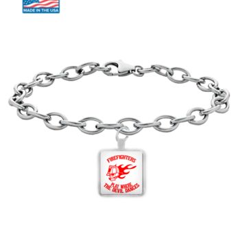 Firefighters - Play Where The Devil Dances Bracelet (Red)