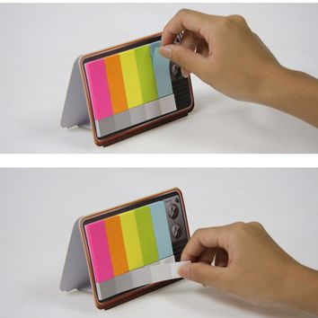 Mini Color TV Sticky Note