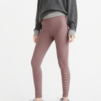 Womens Side Slash Leggings | Womens Bottoms | Abercrombie.com