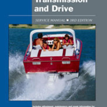 Clymer IBS3 Service Manual for Clymer ProSeries Inboard Engines, Transmissions a