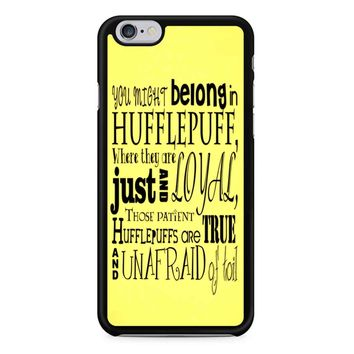Harry Potter Hufflepuff Crest iPhone 6/6S Case