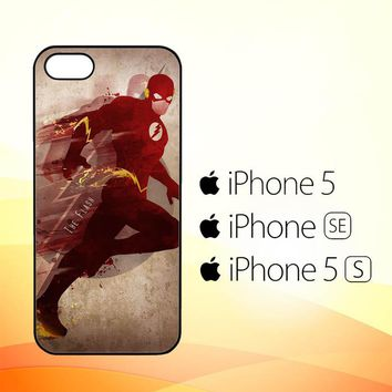 THE FLASH silhouette  Y0542  iPhone 5|5S|SE Case