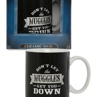 Black Harry Potter Ceramic Mug