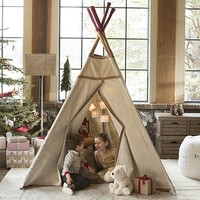 Teepee with Stitching | Pottery Barn Kids