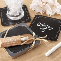 Chalkboard Coasters - Set of 4