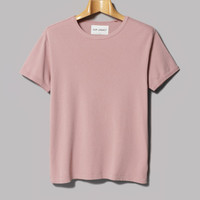 Our Legacy Bolly Tee (Duo Pink 1x1 Rib) – Oi Polloi
