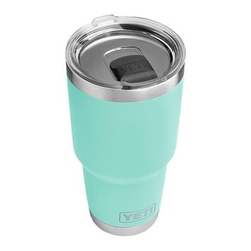 30 oz. DuraCoat Rambler Tumbler in Seafoam with Magslider™ Lid by YETI