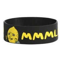Adventure Time Earl Of Lemongrab Rubber Bracelet