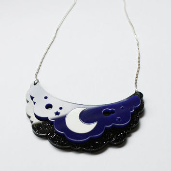 Princess Luna Necklace - My Little Pony