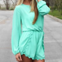 Mint Delight Romper