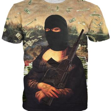 ROTS Gangster Mona Lisa T-Shirt