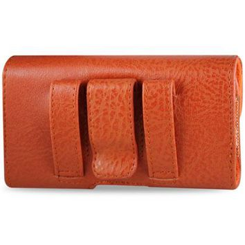 HORIZONTAL POUCH HP1022A HTC HD2 T8585 ORANGE 4.9X2.7X0.5 INCHES: Case Of 120