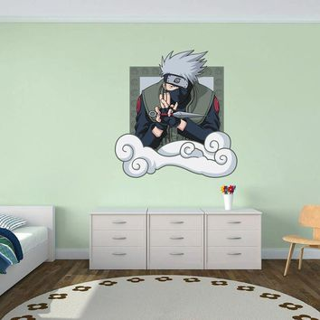 cik1559 Full Color Wall decal Anime Naruto Kakashi Hatake(Какаси Хатакэ) character children's bedroom