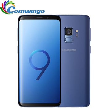 "Original Samsung Galaxy S9 Dual Sim 64GB ROM Mobile phone 5.8"" Inch screen 12MP 3000mAh Qualcomm 4G LTE Octa-core Smartphone"