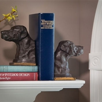 Labrador Bookends