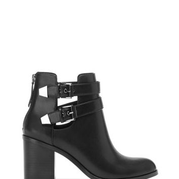 High heel cut-out ankle boots - BOOTS AND ANKLE BOOTS - SHOES -Stradivarius Turkey
