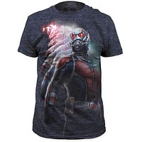 ANT-MAN MENS BIG PRINT SUBWAY TEE