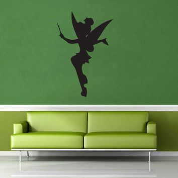 Tinkerbell Silhouette - Wall Decal - No 1$8.95