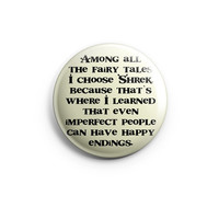 "2"" Funny Pinback button  Shrek 50mm. Pinback Button Badges, Funny pinback,Gift for Valentine's Day, Quotes, Cute Button, Love Quotes"