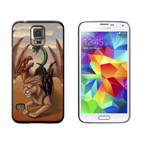 Chimera - Mythological Creature Fantasy Lion Dragon Goat Galaxy S5 Case